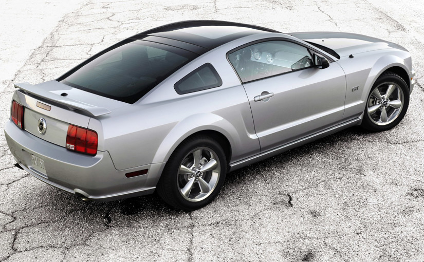 2009 Glass Roof Mustang