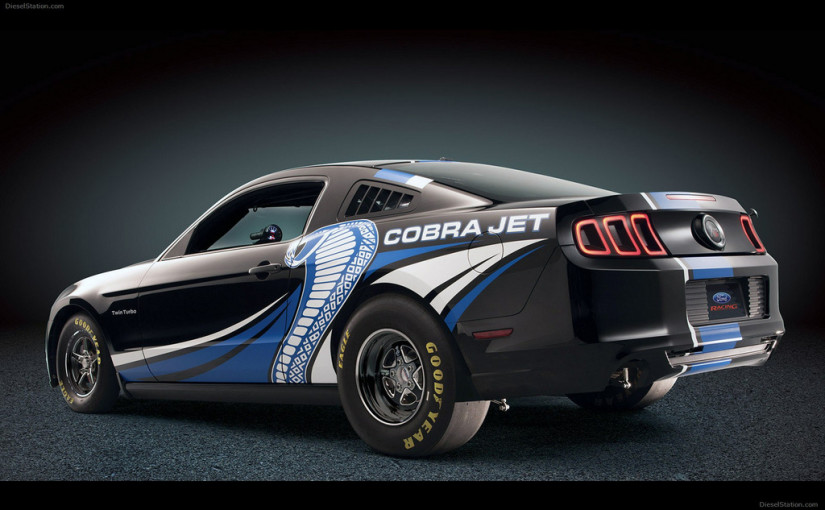 2012 Ford Mustang Cobra Jet Twin Turbo Concept